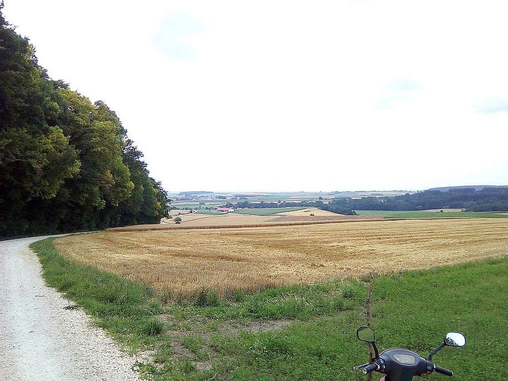 Hügelgräber Naturdenkmal Wanderung Hoher Stein