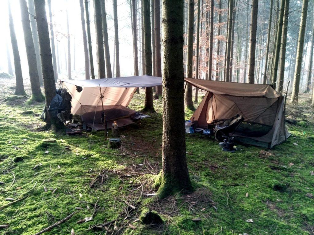 Lagerplatz Übernachtung One Tigris Backwood Bungalow 2.0
