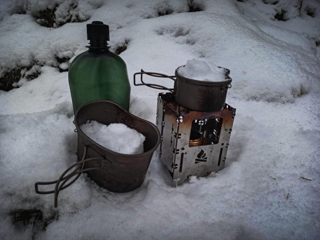 IBasingo Titan Canteen Kit Bushbox LF Nalgene Flasche